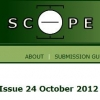 The Scope journal published a report about our international conference, The Cinema of Sensations