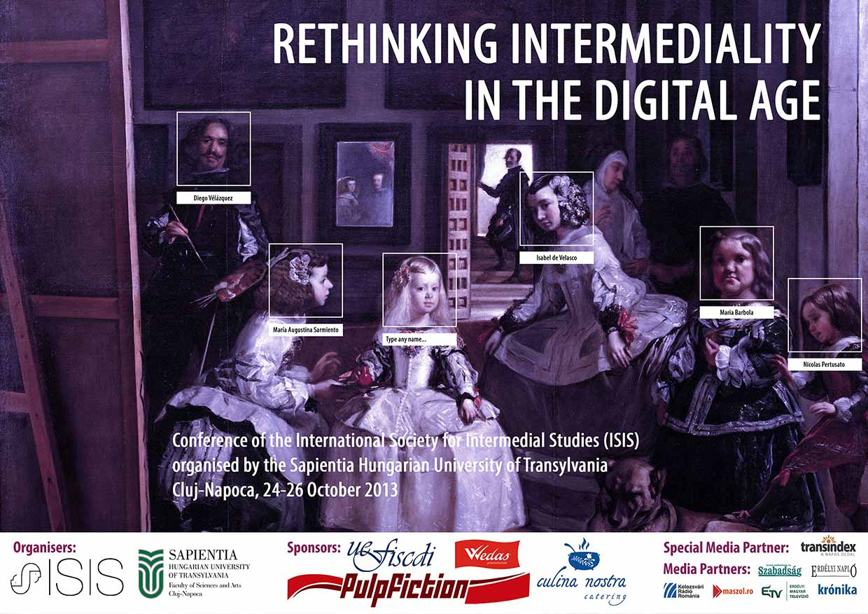 Inaugural Conference Poster - Rethinking intermediality in the digital age